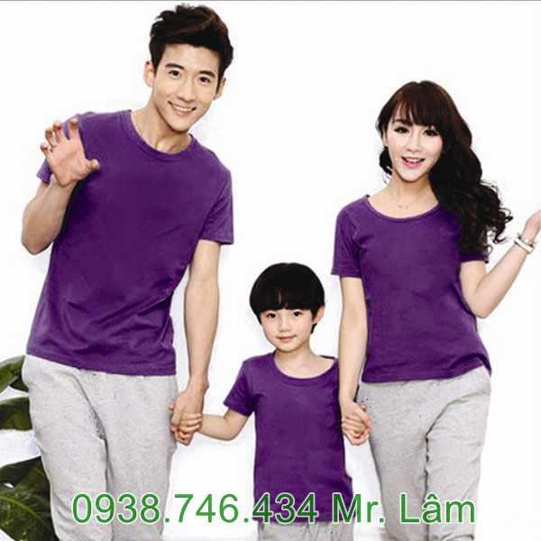 mẫu áo thun đồng phục công ty, gia đình