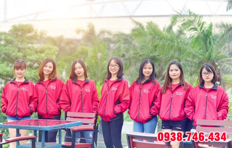Xưởng may áo gió đồng phục công ty