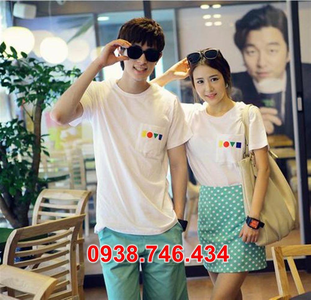 áo thun thời trang dành cho cặp đôi