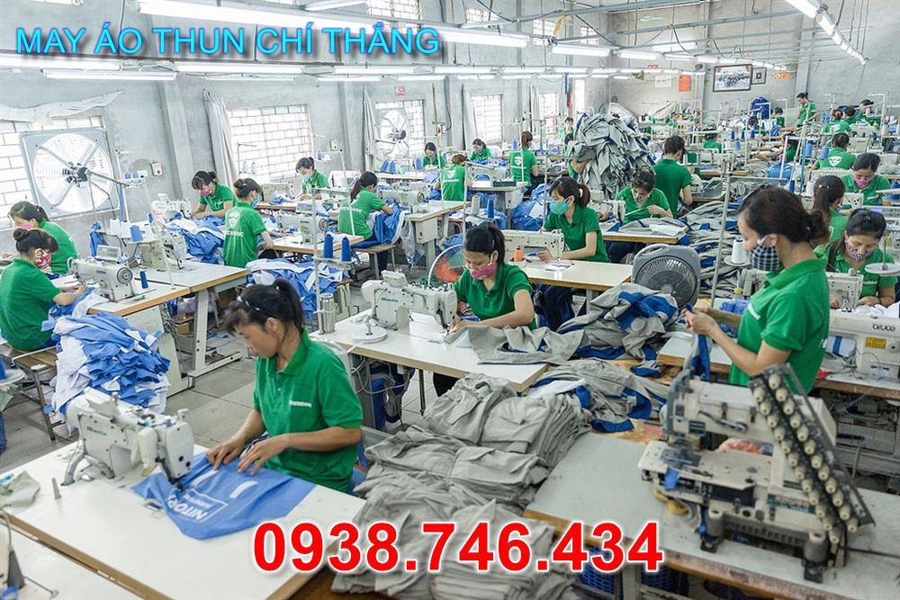 Chí Thắng là xưởng chuyên may các loại áo thun giá rẻ với giá gốc tại xưởng